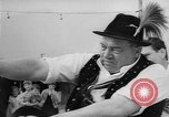 Image of finger wrestling Bavaria Germany, 1963, second 9 stock footage video 65675073171