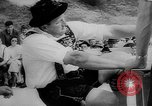 Image of finger wrestling Bavaria Germany, 1963, second 11 stock footage video 65675073171