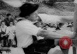 Image of finger wrestling Bavaria Germany, 1963, second 12 stock footage video 65675073171