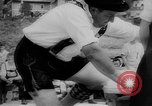 Image of finger wrestling Bavaria Germany, 1963, second 13 stock footage video 65675073171