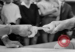 Image of finger wrestling Bavaria Germany, 1963, second 16 stock footage video 65675073171