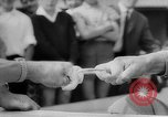 Image of finger wrestling Bavaria Germany, 1963, second 17 stock footage video 65675073171