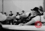 Image of finger wrestling Bavaria Germany, 1963, second 18 stock footage video 65675073171