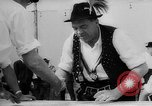Image of finger wrestling Bavaria Germany, 1963, second 21 stock footage video 65675073171