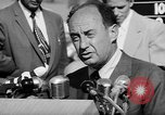 Image of Adlai Stevenson Newton Iowa United States USA, 1956, second 23 stock footage video 65675073192