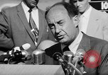 Image of Adlai Stevenson Newton Iowa United States USA, 1956, second 43 stock footage video 65675073192