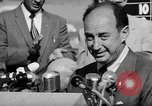 Image of Adlai Stevenson Newton Iowa United States USA, 1956, second 53 stock footage video 65675073192
