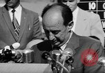 Image of Adlai Stevenson Newton Iowa United States USA, 1956, second 55 stock footage video 65675073192