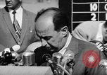 Image of Adlai Stevenson Newton Iowa United States USA, 1956, second 59 stock footage video 65675073192