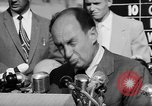Image of Adlai Stevenson Newton Iowa United States USA, 1956, second 61 stock footage video 65675073192
