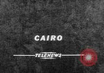 Image of Nasser Cairo Egypt, 1957, second 1 stock footage video 65675073205