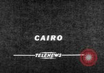 Image of Nasser Cairo Egypt, 1957, second 2 stock footage video 65675073205