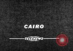 Image of Nasser Cairo Egypt, 1957, second 3 stock footage video 65675073205
