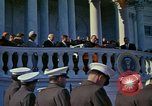 Image of presidential inauguration Washington DC USA, 1961, second 37 stock footage video 65675073214
