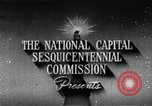 Image of early planning of Washington DC streets and monuments Washington DC USA, 1949, second 2 stock footage video 65675073215