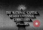 Image of early planning of Washington DC streets and monuments Washington DC USA, 1949, second 3 stock footage video 65675073215