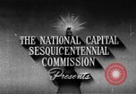 Image of early planning of Washington DC streets and monuments Washington DC USA, 1949, second 4 stock footage video 65675073215