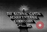 Image of early planning of Washington DC streets and monuments Washington DC USA, 1949, second 5 stock footage video 65675073215