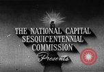 Image of early planning of Washington DC streets and monuments Washington DC USA, 1949, second 6 stock footage video 65675073215