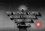 Image of early planning of Washington DC streets and monuments Washington DC USA, 1949, second 7 stock footage video 65675073215