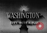 Image of early planning of Washington DC streets and monuments Washington DC USA, 1949, second 9 stock footage video 65675073215