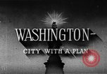 Image of early planning of Washington DC streets and monuments Washington DC USA, 1949, second 10 stock footage video 65675073215