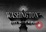 Image of early planning of Washington DC streets and monuments Washington DC USA, 1949, second 11 stock footage video 65675073215