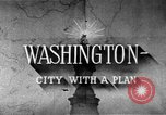 Image of early planning of Washington DC streets and monuments Washington DC USA, 1949, second 12 stock footage video 65675073215