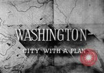 Image of early planning of Washington DC streets and monuments Washington DC USA, 1949, second 13 stock footage video 65675073215