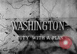 Image of early planning of Washington DC streets and monuments Washington DC USA, 1949, second 14 stock footage video 65675073215