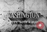 Image of early planning of Washington DC streets and monuments Washington DC USA, 1949, second 15 stock footage video 65675073215