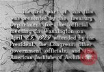 Image of early planning of Washington DC streets and monuments Washington DC USA, 1949, second 51 stock footage video 65675073215