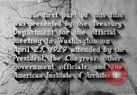 Image of early planning of Washington DC streets and monuments Washington DC USA, 1949, second 53 stock footage video 65675073215