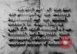 Image of early planning of Washington DC streets and monuments Washington DC USA, 1949, second 58 stock footage video 65675073215