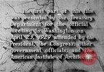 Image of early planning of Washington DC streets and monuments Washington DC USA, 1949, second 59 stock footage video 65675073215