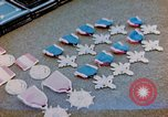Image of decorations on table European Theater, 1945, second 1 stock footage video 65675073244