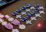 Image of decorations on table European Theater, 1945, second 4 stock footage video 65675073244
