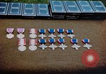 Image of decorations on table European Theater, 1945, second 12 stock footage video 65675073244