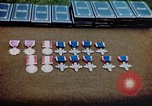 Image of decorations on table European Theater, 1945, second 13 stock footage video 65675073244