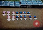 Image of decorations on table European Theater, 1945, second 14 stock footage video 65675073244