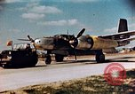 Image of A-26 Invader aircraft European Theater, 1945, second 24 stock footage video 65675073246