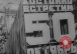 Image of May Day parade Moscow Russia Soviet Union, 1967, second 30 stock footage video 65675073279