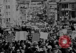 Image of peace demonstration San Francisco California USA, 1967, second 4 stock footage video 65675073294