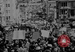 Image of peace demonstration San Francisco California USA, 1967, second 5 stock footage video 65675073294