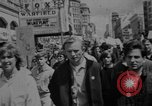 Image of peace demonstration San Francisco California USA, 1967, second 8 stock footage video 65675073294