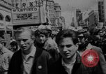Image of peace demonstration San Francisco California USA, 1967, second 9 stock footage video 65675073294
