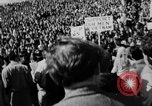 Image of peace demonstration San Francisco California USA, 1967, second 15 stock footage video 65675073294