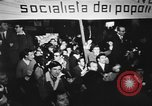 Image of peace demonstration Rome Italy, 1967, second 8 stock footage video 65675073295