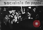 Image of peace demonstration Rome Italy, 1967, second 9 stock footage video 65675073295