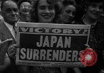 Image of victory celebrations United States USA, 1945, second 53 stock footage video 65675073311
